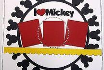 Disney scrapbook / Journeys of Disney / by Nicole Sisk