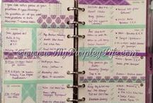 Planner Love / Ideas and inspiration for pretty planners :-)  Making the everyday beautiful