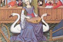 Costura - Medieval / Ideas para trajes para ferias y mercados medievales. Solo de 1200-1500. Trajes hechos actualmente e imágenes y patronaje de fuentes primarias. ¡Históricamente correctos!