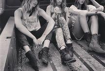 gypsy soul sisters / badass sisterhood #girlgang