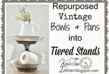Repurposed items, recycled, and reused