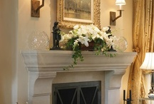 Fireplace Mantels / by Mona Thompson / Providence Design