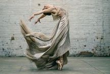 """""""To dance is to be out of yourself.  Larger, more beautiful, more powerful."""" / by Emily Cain"""
