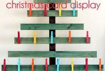 Christmas Display cards