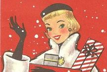 Christmas Vintage, Cottage, and Country