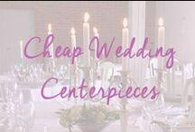 Cheap Wedding Centerpieces / Stunning and cheap wedding centerpieces / by Cheap Wedding