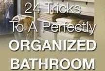 Organize Cleaning, bath, & laundry Supplies / Best Kept Secrets