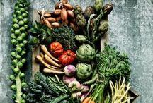 Veggies, berries & fruits