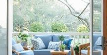 Porches, Verandas, Balconies and Courtyards