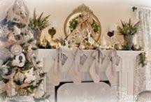 Christmas Stockings and Mantles