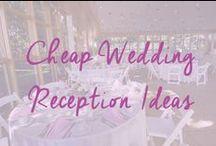 Cheap Wedding Reception Ideas / All the best cheap wedding reception ideas, where to find your cheap wedding venue, cheap decoration ideas and menus too / by Cheap Wedding