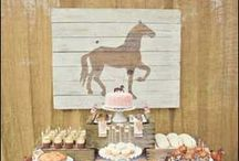 Vintage Cowgirl Party / Horse themed birthday party