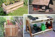 Garden diy containers & structures / Best Kept secrets