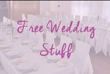 Free Wedding Stuff / Join our wedding community where we share all of the great free wedding items we find / by Cheap Wedding
