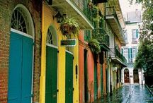 New Orleans / The architecture, the food, the colors oh my!