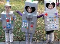Costumes / They've become storybook characters.  They've become food and toys.  They've become everything above and below the sun!  Here are some family friendly costumes for children and adults.