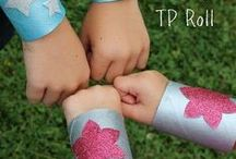 Cardboard Tubes / Here are some crafts and learning activities that use paper towel rolls and other cardboard tubes.