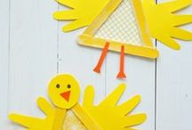 Craft Sticks / Here's a collection of educational activities and craft ideas using craft sticks.