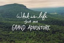Yes to Adventure! / Fly tour! Places to go, things to see and do! / by Whitney Ward