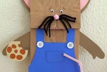 Paper Bags / Here are some classroom ideas that use paper bags.