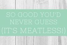 So Good You'd Never Guess (It's Meatless!) / A collection of reliable, tested recipes that are so delicious, no one would know they are gluten-free. *Group board for home cooks who can recommend recipes they have actually tried and would make again. Please follow @readcookdevour on Pinterest and email me at readcookdevour@gmail.com to request to be added.