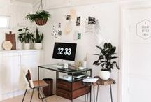 House - Workspaces / workspaces, desks, studios / by Bec Matheson Photography