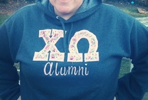 ChiO / Chi Omega paraphernalia for sisters and alumni
