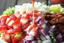 Food: Salads / by Anne Heibein Olsen