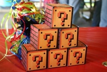Super Mario Bros Party / Woohoo! Let's go! It's Super Mario! Delight your child with a Super Mario Brothers themed birthday party. From Mario Kart to Princess Peach, this board is packed with party activities for boys and girls. For more great ideas, visit MeetPenny.com. / by Tabitha Philen (Meet Penny)