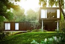 House - Eco House / Ideas for my parents eco-build. Grand Design style / by Bec Matheson Photography