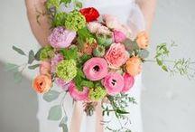 * spring bride * / Spring inspired bridal robe for brides, bridesmaids, and delicates.
