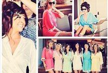* bridesmaids robes & bridesmaid gifts * / Bridal robes, bridesmaid robes, bridesmaid gifts, and gorgeous real weddings.