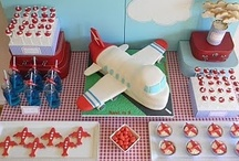 Airplane Birthday Party / Celebrate with an Airplane Birthday Party! Loads of airplane birthday ideas including an airplane cake and fun airplane party favors.
