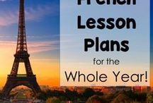 French High School Lesson Plans / Sharing the best high school French lessons, games, activities, resources, and ideas. Happy teaching! #Frenchhighschoollessonplans