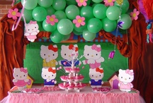 Hello Kitty Birthday Party / Hello Kitty! What girl can resist that adorable face? Why not have fun with Hello Kitty and all her friends at a Hello Kitty Birthday Party! I posted about our Hello Kitty Garden Party at MeetPenny.com. / by Tabitha Philen (Meet Penny)