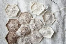 Textiles - Knit & Crochet / If I could knit or crochet
