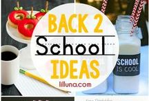 BackToSchool / back to school ideas, orginization / by Kimberli Smith