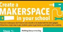 Makerspace Ideas for School Libraries / Looking for inexpensive creative projects for the school library maker spaces.