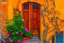 Open Doors! / Just doors. The door to my heart. An open door leads to new adventures. When one door closes another one opens. New beginnings start with an open door. The doors will be opened to those who are bold enough to knock.