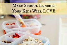 Brown Paper Baggin' / school lunches / by Jessica Cox