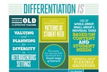 Differentiated Instruction / Differentiated instruction resources for classroom instruction.