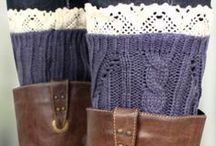 Boot Cuffs and Fall Accessories / by eWam.com