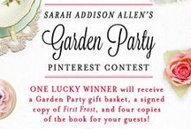 A FIRST FROST Garden Party / You're invited! Join Sarah Addison Allen (@magicallydelish), St. Martin's Press, and Hey Wedding Lady (@heyweddinglady) to celebrate FIRST FROST (out 1/20). Enter to win here: http://goo.gl/forms/JOsRXPHebe