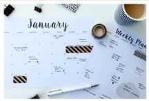 Printable Stationary / How To's & Printables For: Personal Planners Journalling  Organisation/Time Management