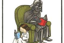May the Force be With You / Star WARS! Inclues NPL's Star Wars books for all ages as well as other SW-related goodies.