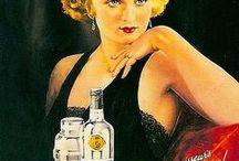 Vintage ♥ / Selección de posters, anuncios e ilustraciones vintage referidas a cócteles y combinados.