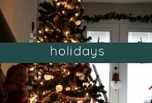 holidays / Inspiration, ideas and tips for hosting holidays on a budget.