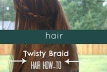 Hair / Easy hair ideas for the busy mom on the go.