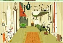 Child Bedroom / by ocio lector / fun &read