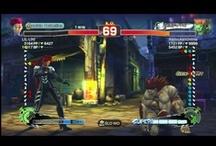 Street Fighter / HadoukenOnline.com - When in doubt, shoryuken.... also other fighting games.